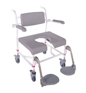 HMN M2 Bariatric Shower Commode Chair, 200kg
