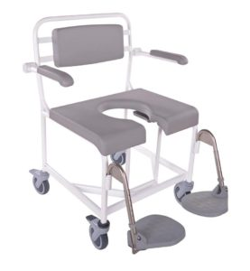 HMN M2 Bariatric Shower Commode Chair, 300kg