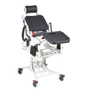 Lift and Tilt Power Commode Shower Chair