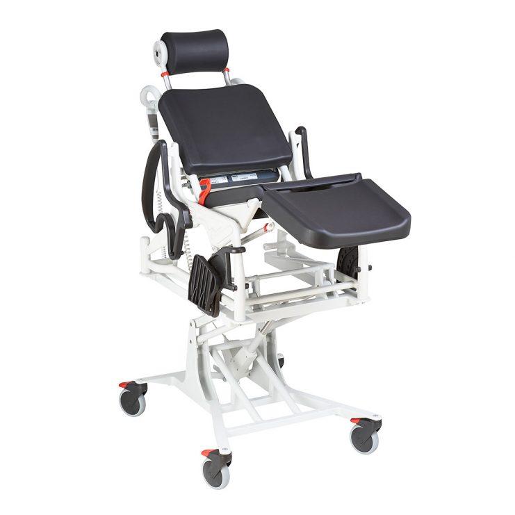 Lift and Tilt Power Commode Shower Chair