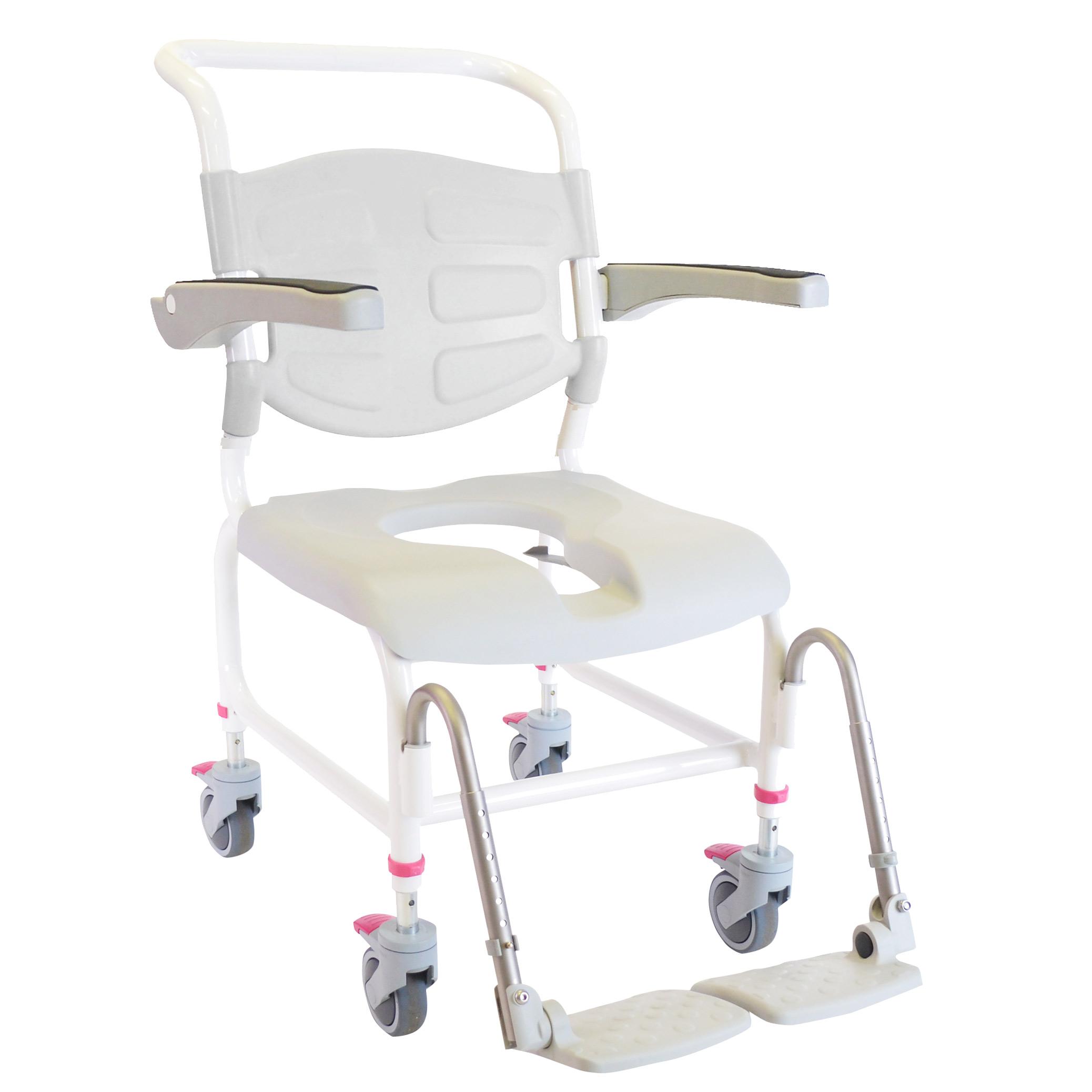 HMN Height Adjustable Shower mode Chair