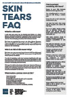 Frequently asked questions about skin tears